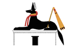 Image Anubis comme chacal