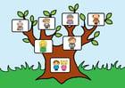 Image arbre de famille