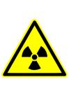 Image avertissement radioactif