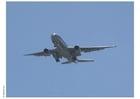 Photo avion au décollage