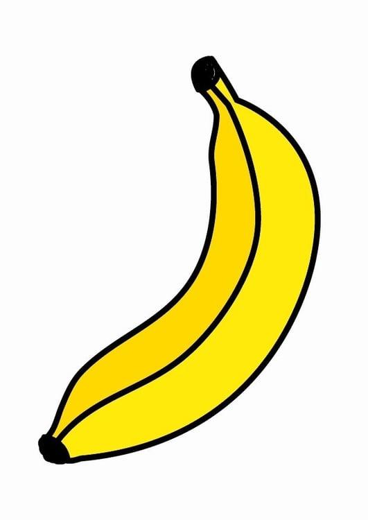 Image Banane Dessin
