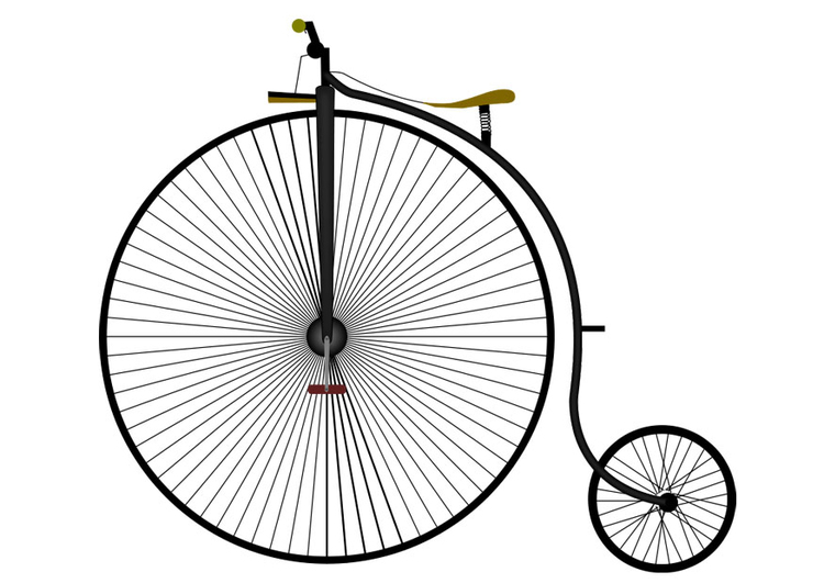 Image bicyclette antique