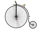 Image bicyclette antique