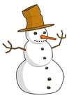 Image bonhomme de neige