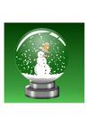 Image boule à neige