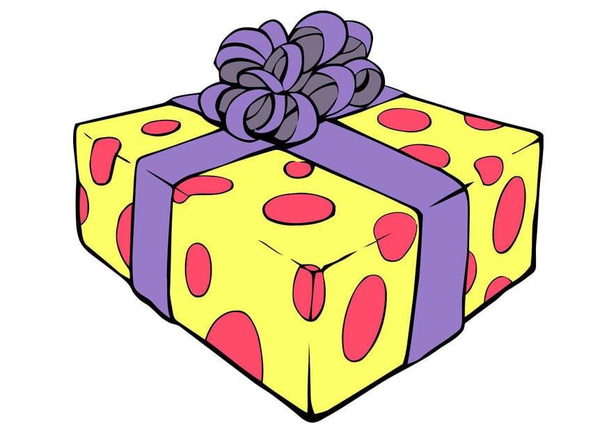 Image cadeau de no l dessin 20293 - Dessin cadeau anniversaire ...