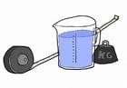Image calcul métrique