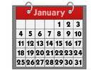 Image calendrier - janvier