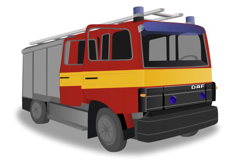 Image camion de pompier dessin 29510 - Image camion pompier ...