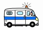 Image camionnette de police