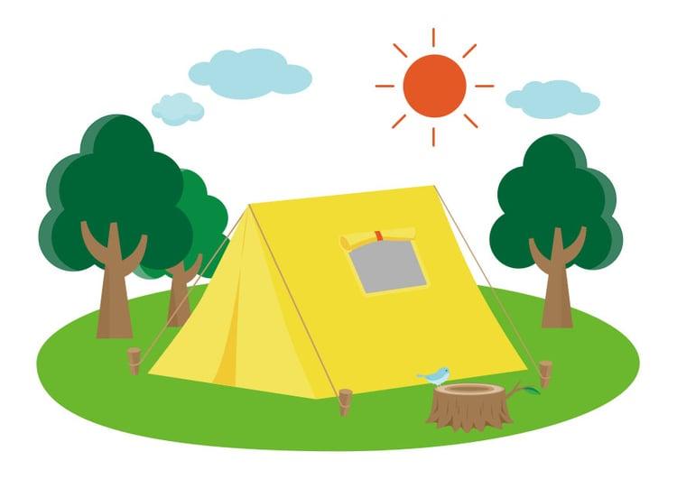 """Résultat de recherche d'images pour """"dessin camping"""""""
