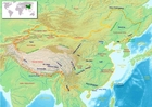 Image carte de Chine