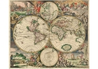 Image Carte du monde 1689
