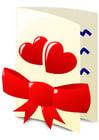 Image carte pour la Saint-Valentin