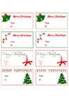 Image cartes pour cadeaux de Noël