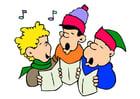 Image chant de Noël