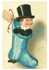 Image chaussette de Noël