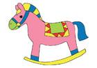 Image cheval à bascule