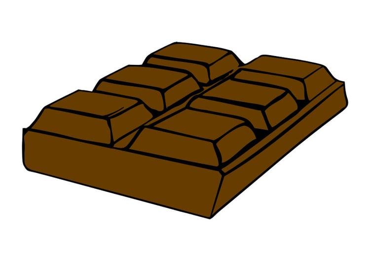 Image chocolat dessin 28054 images - Dessin tablette chocolat ...