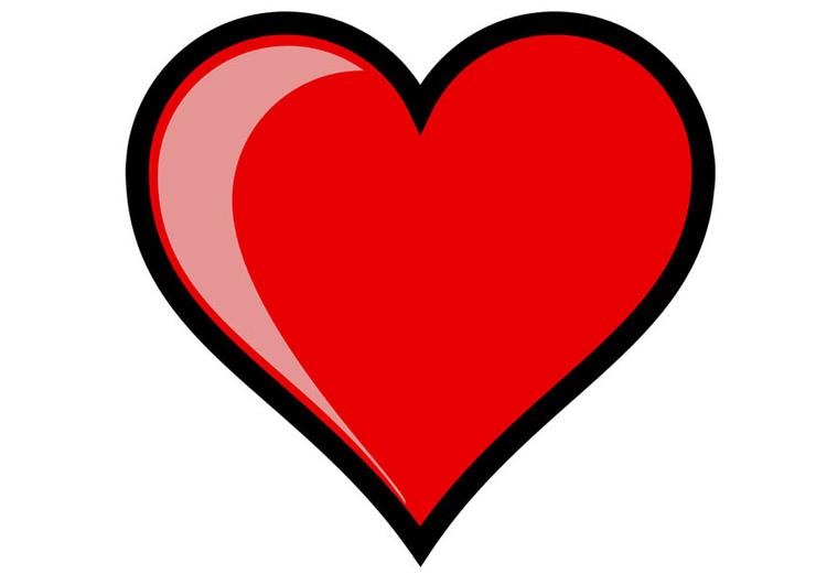 Image coeur dessin 15737 - Dessins de coeur ...
