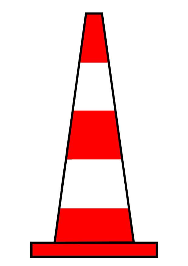 Image c ne de signalisation dessin 27181 - Cone de signalisation ...