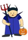 Image costume d'Halloween