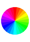 Image couleurs de l'arc-en-ciel