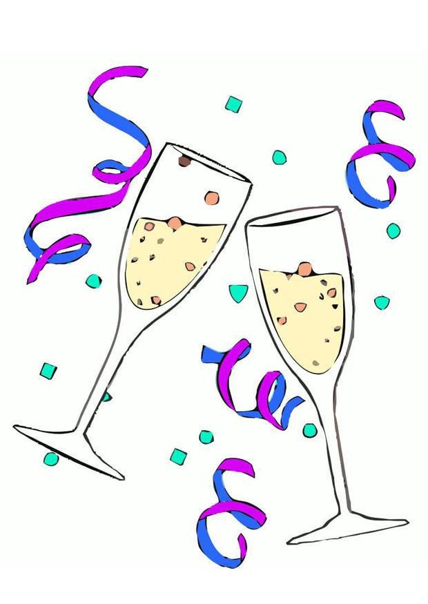 Image coupes de champagne dessin 20220 - Happy neurone mots coupes ...