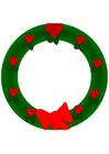Image couronne de Noël
