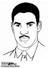 Coloriage Denzel Washington