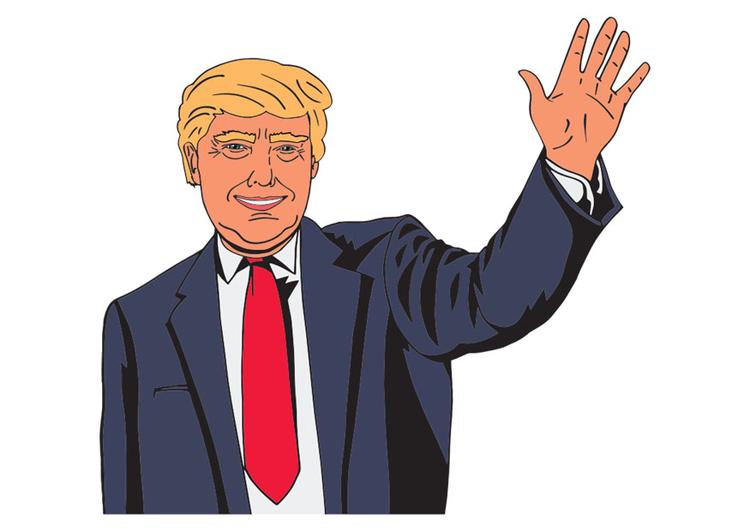 Image Donald Trump - Dessin 29787