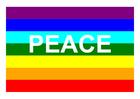 Image drapeau de la paix