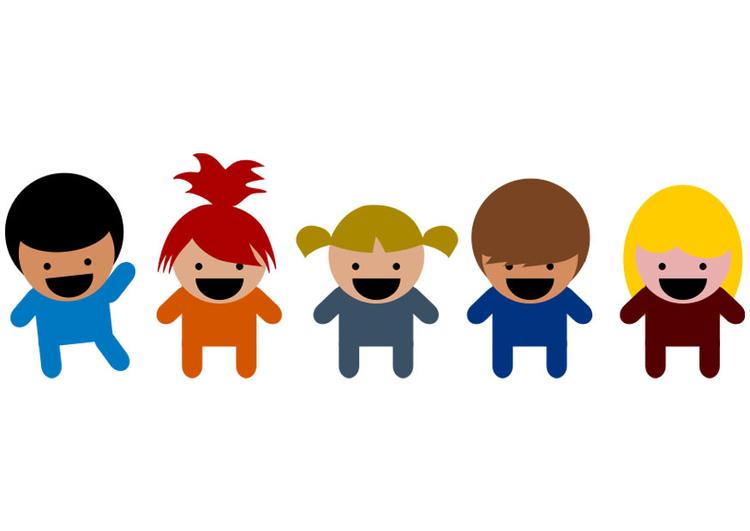 Coloriage Ecoliers Retour Ecole Enfants Dessin: Image écoliers