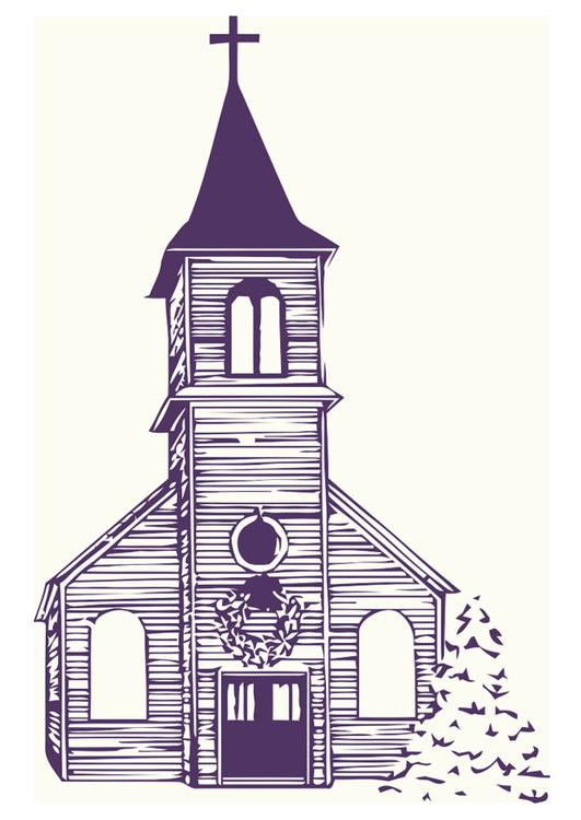 Image Eglise En Hiver Images Gratuites A Imprimer Dessin 20531