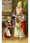Image enfants avec Saint-Nicolas