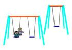 Image enfants sur une balançoire