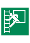 Image escalier de secours