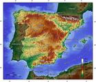 Image Espagne topographie