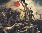 Image Eugene Delacroix - La Liberté guidant le peuple.