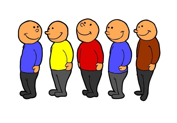 """Résultat de recherche d'images pour """"dessin faire la queue"""""""