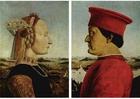 Image Federico da Montefeltro et sa femme Battista Sforza