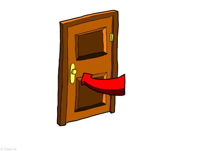 Image fermer la porte conomie d 39 nergie dessin 28412 - Image fermer la porte ...