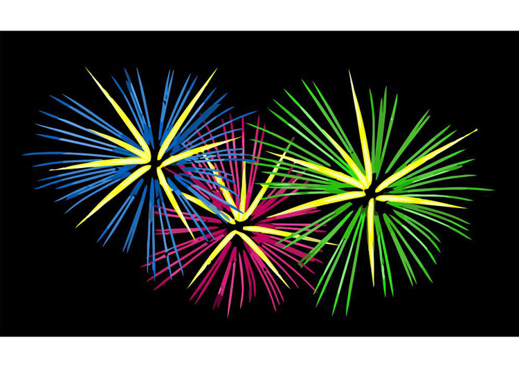 Image Feu D Artifice Dessin 22589