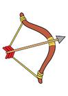 Image flèche et arc
