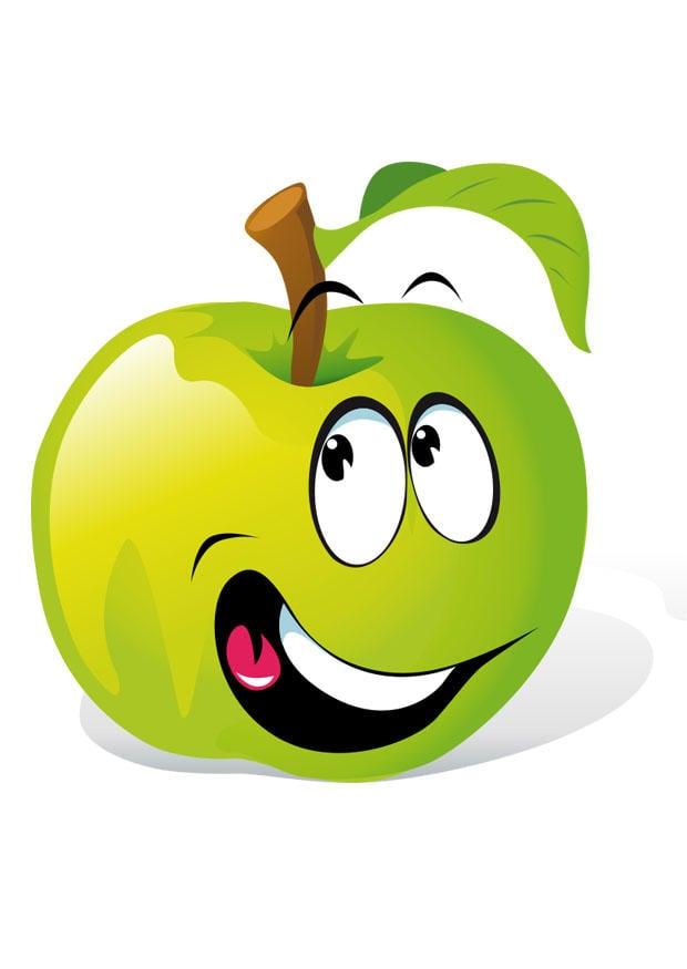 Image fruit pomme verte Images Gratuites Imprimer