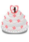 Image gâteau de mariage