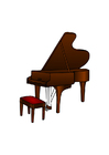 Images grand piano