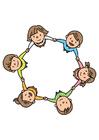 Image groupe d'enfants