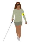 Image handicap visuel