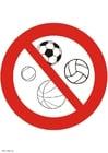 Image jeux de ballons interdits